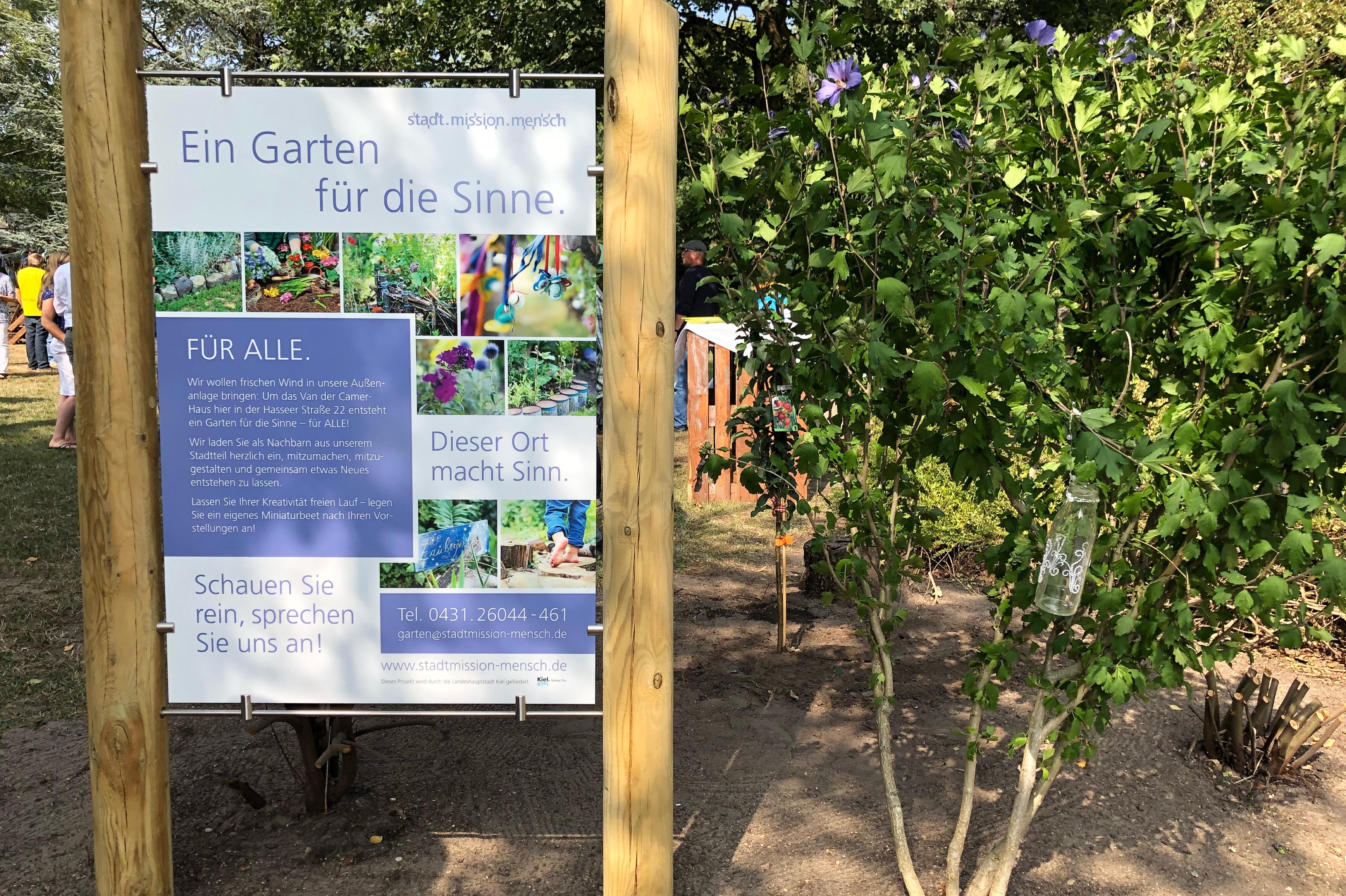 Ein Garten Für Die Sinne Mitten In Hassee Philip Schüller