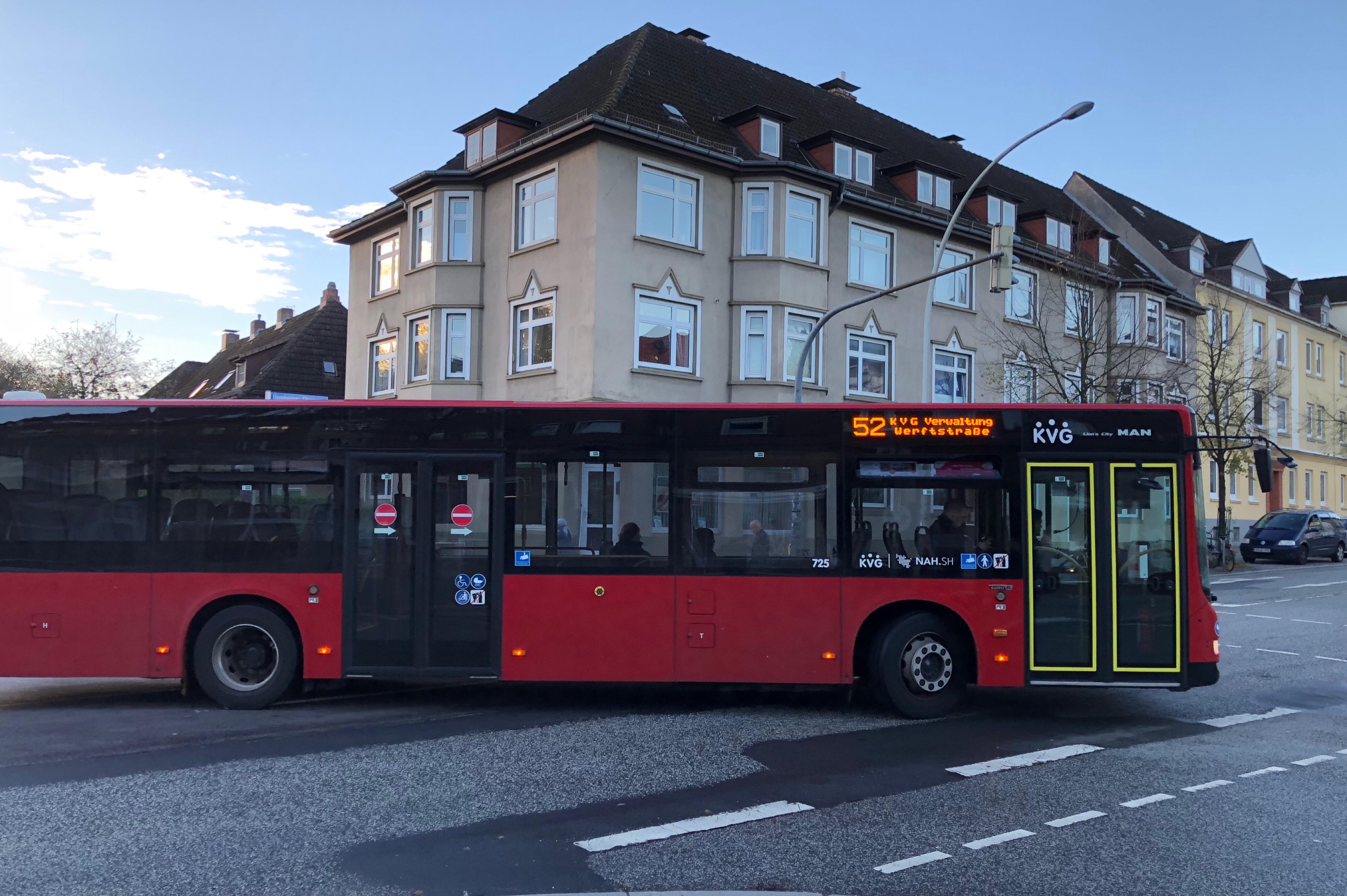 Buslinie 52 Hassee